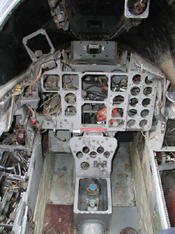 Bare Cockpit.