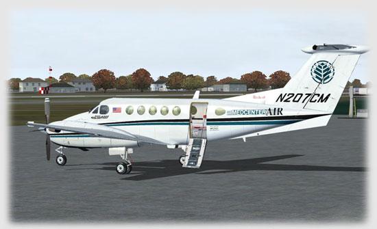 Aeroworx X-treme King Air B200 Version 2.0