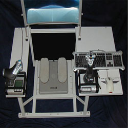 Sim Cockpit System fly-by-wire configuration.
