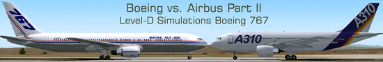Boeing vs. Airbus - Part 2 Level-D Simulations Boeing 767
