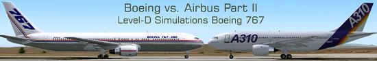 Boeing vs. Airbus - Part 2 Level-D Simulations Boeing 767