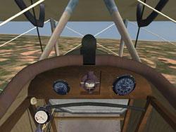 Nieuport 17 Cockpit