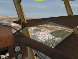 Sopwith Triplane Cockpit