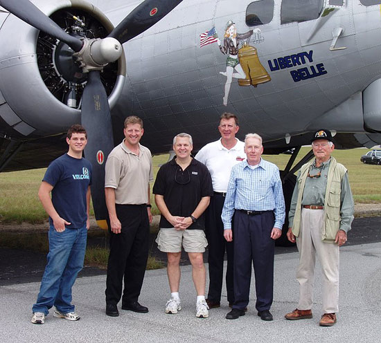 """The """"Liberty Belle"""" Crew on October 12, 2005"""