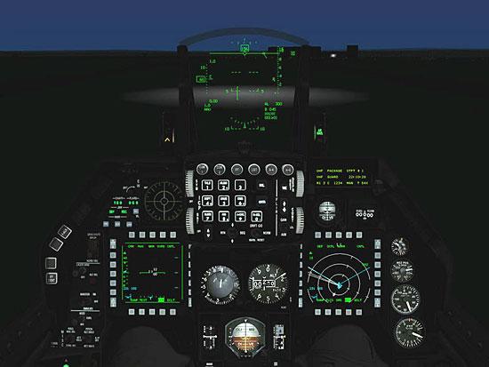 Cockpit Night Lighting