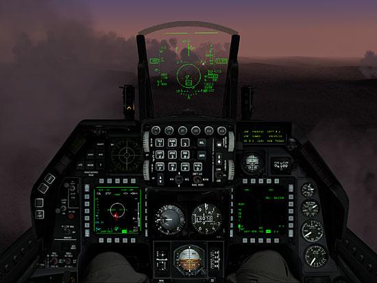 The F4:AF Cockpit