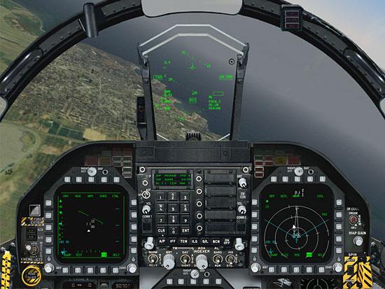 FA-18 Cockpit