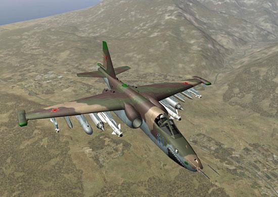"""Lock On Su-25 """"Grach"""""""