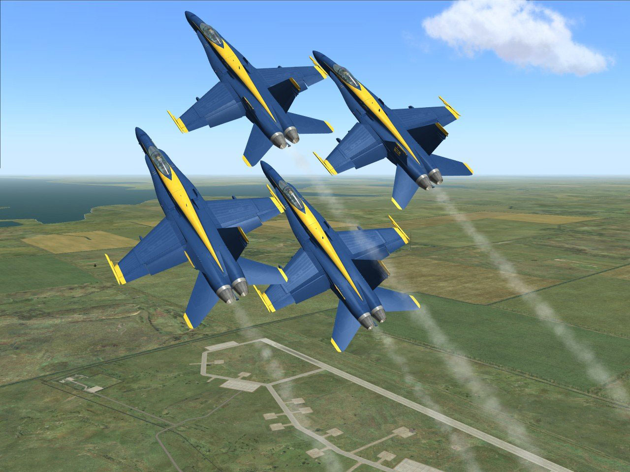 The Virtual Blue Angels Page 2 | SimHQ