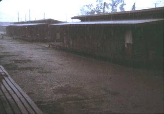 Quarters (the dungeon) during Monsoon season.