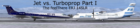 Jet or Turboprop? Part I: The feelThere ERJ 145LR