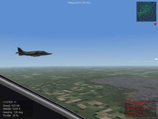 Harrier Wingman