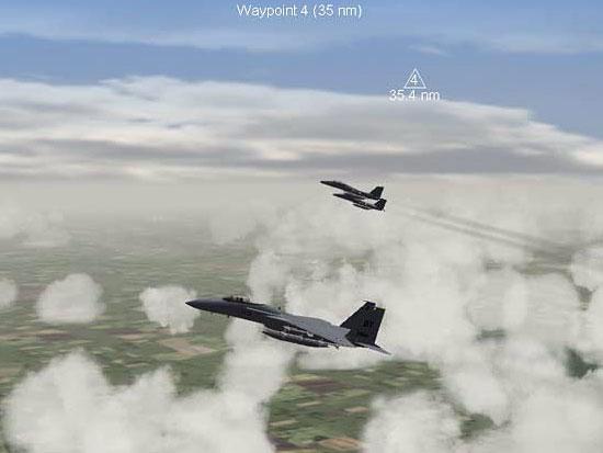 F-15 Flight