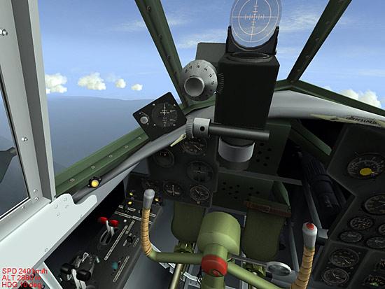 The Pe-2 Cockpit.
