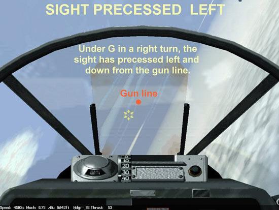 Sight Precessed left