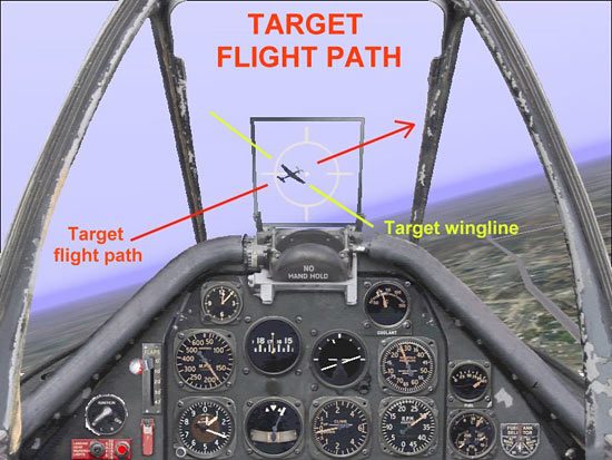 Target Flight Path