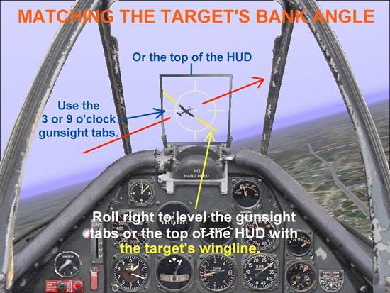 Matching The Target's Bank Angle