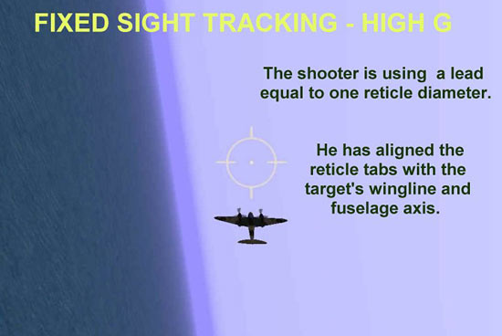 Fixed Sight Tracking - High G