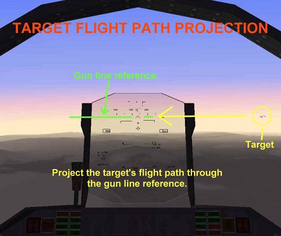Target Flight Path Projection