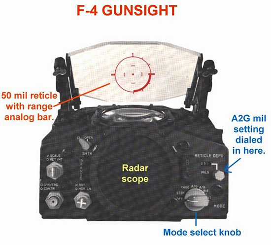 F-4 Gunsight