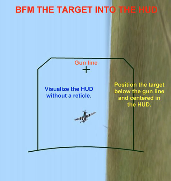 BFM the Target Into the HUD