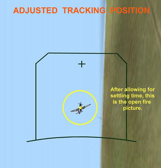 Adjusted Tracking Position