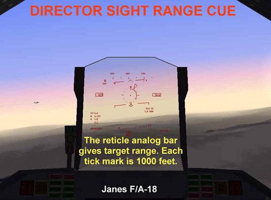 Director Sight Range Cue - F/A-18