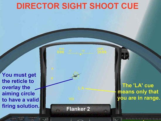 Director Sight Shoot Cue - Flanker 2