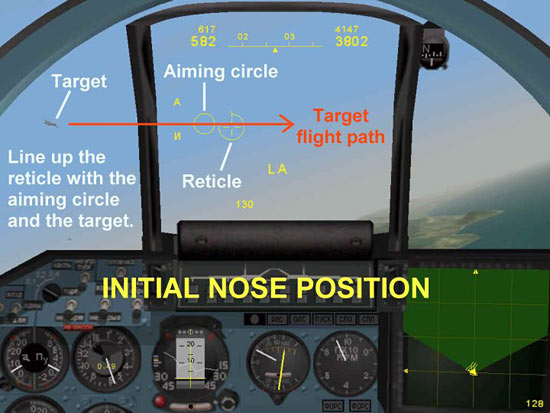 Initial Nose Position