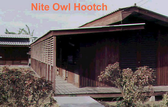 Officer's Quarters - 'Hootches'