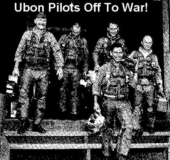 Pilots leaving The TOC