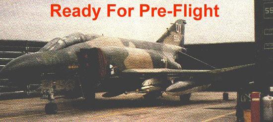 F-4s In Revetments, Ubon Air Base, Thailand