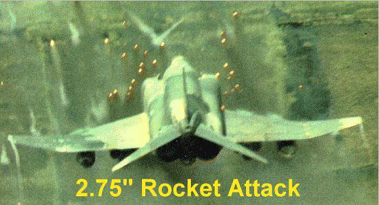 """2.75"""" Rocket Attack"""