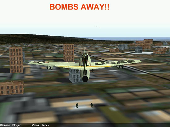 Fig 24 - Bombs Away!!