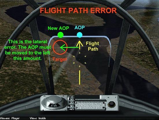 Fig 16 - Flight Path Error