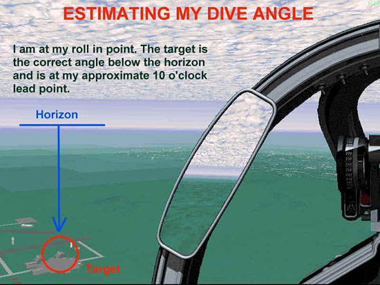 Fig 18 - Estimating My Dive Angle