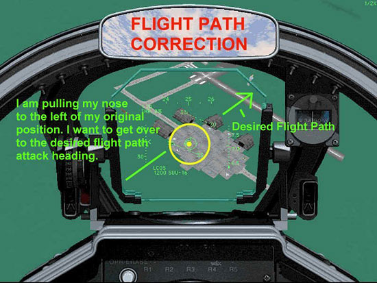 Fig 22 - Flight Path Correction