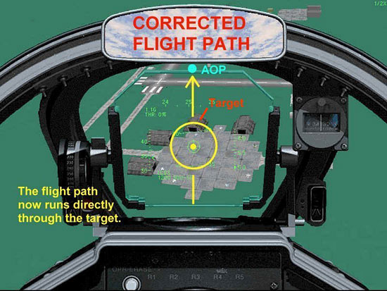 Fig 23 - Corrected Flight Path Error