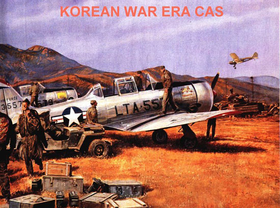 Fig 2 - Korean War Era CAS