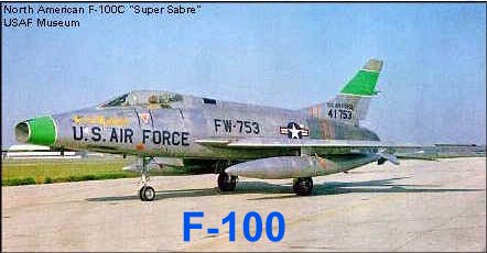 Fig 4 - F-100 Super Sabre