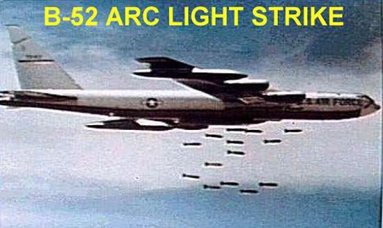 Fig 10 - B-52 Arc Light Strike