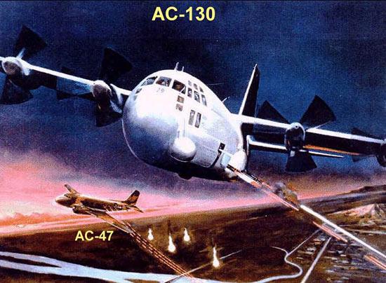 Fig 27 - AC-130 Spectre