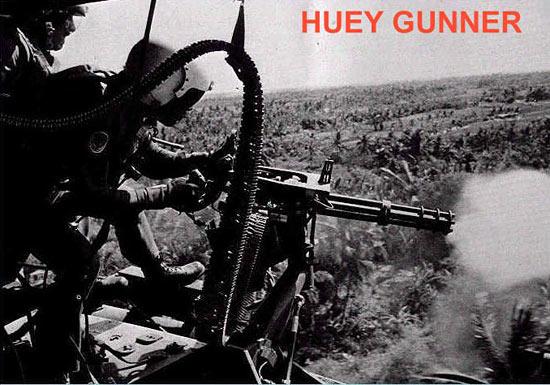 Fig 28 - Huey Gunner