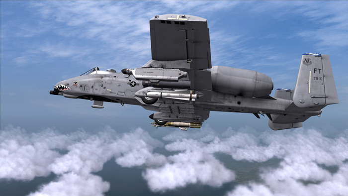 External view of the A-10C
