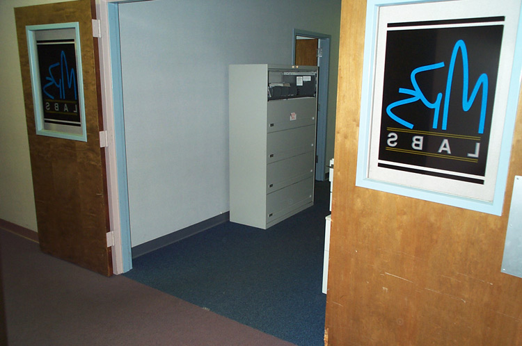 Entry to the PC Development area.