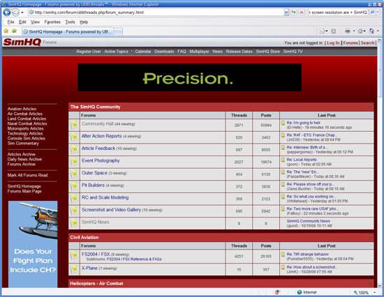 Stylesheet SimHQ_red