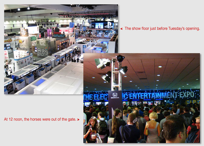 The start of E3Expo 2010
