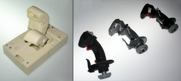 Prototypes for the Thrustmaster HOTAS Warthog