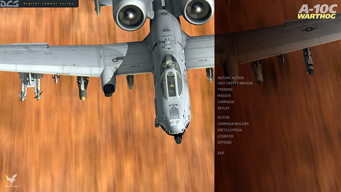 DCS: A-10C Warthog - Main Menu