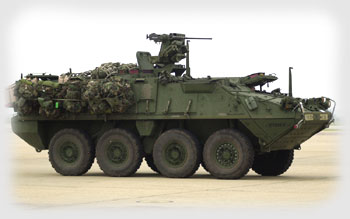 4 - Stryker by U.S. Army Sgt. Lisa Jendry.
